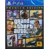 Grand Theft Auto V Premium Edition (gta V) - Ps4