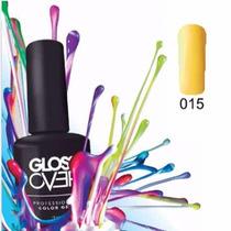 Esmalte Gel Uñas Tipo Gelish Gloss Over Lemon Pastel 15ml