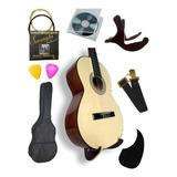 Guitarra Inicial Con Base Y Accesorios