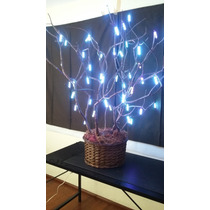 Hermoso Árbol Decorativo Led Multicolor