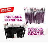 Brochas Maquillaje De 20 Pcs+set De Regalo Gratis E/gratis