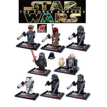 Figuras Compatibles Con Lego De Star Wars Force Awakens