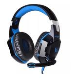 Audífonos Kotion G2000 Negro Y Azul