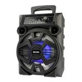 Bocina Bafle Bluetooth 8 Pulgadas Va830t Karaoke Ubs  Full
