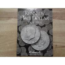 Album Coleccionador De Monedas Half Dolar Kennedy 1964 -1984