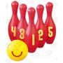 Edu-119 Boliche Gigante De Plástico 6 Piezas 3+ De Eduplas
