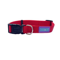 Collar De Perro - & Co Red Totalmente Ajustable Resistente Y