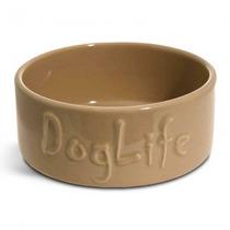 Tazón Para El Perro - Perros Vida Grande 20x7.5cm James & S