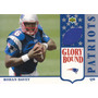 2002 Ud Authentics Glory Bound Rc Rohan Davey Qb Patriots