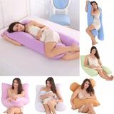 Almohada Para Embarazo /lactancia Algodon Grande