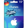 Tarjeta Gift Card Itunes Alemania 15 Euros Ipod Ipad Iphone