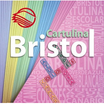 100 Hojas Tipo Cartulina Bristol Tamaño Carta 4 Colores Dif