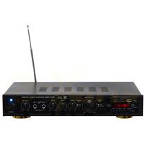 Amplificador De Sonido Profesional 250 W Rms Original Xaris.