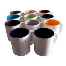 Taza Personalizada Fondo Colores Sublimación