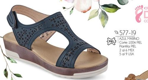 2dbf9bc0479 Sandalias De Mujer Color Azul Marino 577-19 Cklass Confort en venta ...