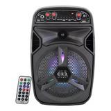 Bafle Amplificado 6 Pulgadas Tws Bluetooth Usb 6000w Pmpo /e