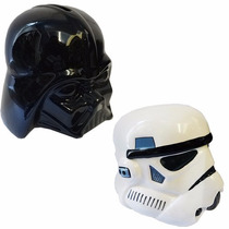 Combo De 2 Alcancias Darth Vader + Storm Trooper + Cocoa