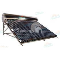 Calentador Solar Alta Presión 301 Litros. Acero Inoxidable
