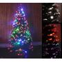 Arbol Navidad 1.50 Mts Fibra Optica Multicolor Envio Gratis