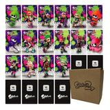 17 Tarjetas Nfc Amiibo - Colección Splatoon 2 + Caja Oficial