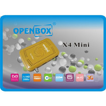 Openbox X4 Receptor Satelital Mini Hd + Wifi Open Box