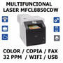 Multifuncional Laser Brother Mfc L8850cdw Color Oficio 48hrs