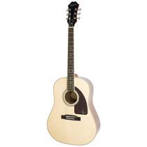 Guitarra Epiphone Aj-220s Solid Top Natural Blakhelmet Sp