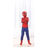 Disfraz Traje Spiderman Azul Cosplay Niño! 8e5c45d1da62