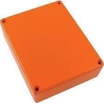 Caja/chasis Para Pedal De Guitarra Aluminio Naranja Ped003