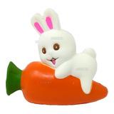 Squishy Kawaii Juguetes Conejo Con Zanahoria