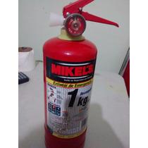 Envase Vacio De Extintor De Emergencia 1 Kg Mikels