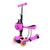 Patin Diablo Scooter Montable 3 Ruedas Luces Led Patineta