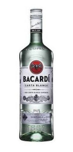 Bacardi Ron Blanco Botella 980ml