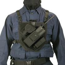 1029 Tact Blackhawk Chaleco Portaradio Patrol Radio Harness