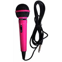 Microfono Dinamico Unidireccional Rosa