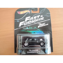 Hot Wheels Retro Rapidos Y Furiosos Charger 70 Rt 2015