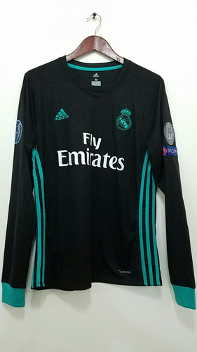 Jersey Real Madrid Ucl Manga Larga f1b0acd1aa69c