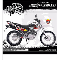 Kit De Calcas Honda Bros 125 / 150