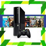 Xbox 360 Slim / E 250 Gb + 35 Juegos Dig Elegir | Mod Games