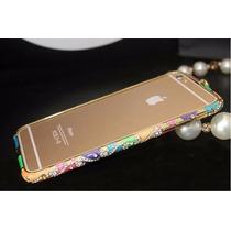Hermoso Bumper Con Cristales Para Iphone 6 Y 6 Plus