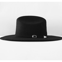 Sombrero Negro Vanwho Hipster Vintage Ala 10 Cm