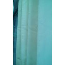 ¡remate! Cortina Translucida Azul Aqua .80x1.80m