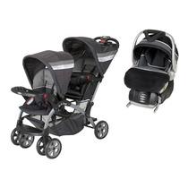 55d0ac858 Carriola Baby Trend Bebe Doble Sit N Stand Con 1 Portabebe en venta ...