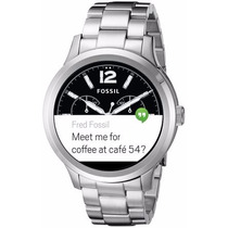 Fossil Q Founder Digital Display Stainless Steel Touchscreen