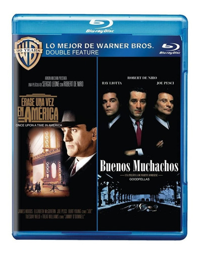 Erase Una Vez En América / Buenos Muchachos Blu Ray Nuevo