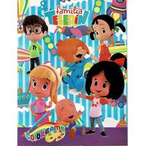 30 Libros Para Colorear Familia Telerin 30 Cajas D Crayola En Venta