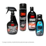 Cuidado Y Limpieza Para Automoviles Kit 4 Pz 3m