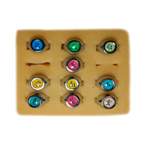 Set 10 Anillos Akatsuki De Acero A Solo $499 Mdu