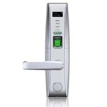 L4000pi Cerradura Biometrica Plateada Izquierda/ Menu En Pan
