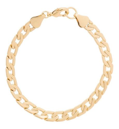 f1bdda2ca54b Esclava De Hombre Con Baño De Oro 18k Pulsera Nice 218897 en venta ...